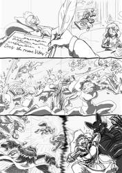 Reynard City Chronicles Issue 2 Final WIP preview by polycomical
