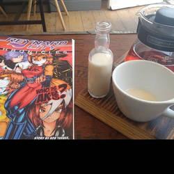Reynard City comic with a coffee by polycomical