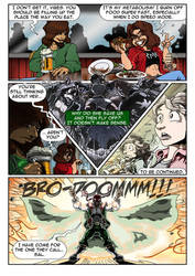 Reynard City Chronicles 2 pg 3 preview by polycomical