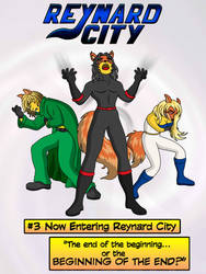 Simpsonized Me Reynard City Issue 3 variant by polycomical