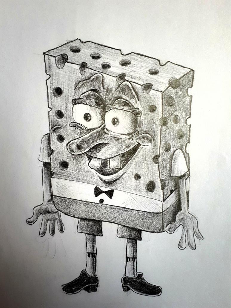 spongebob squarepants by Ramiz-Qandah
