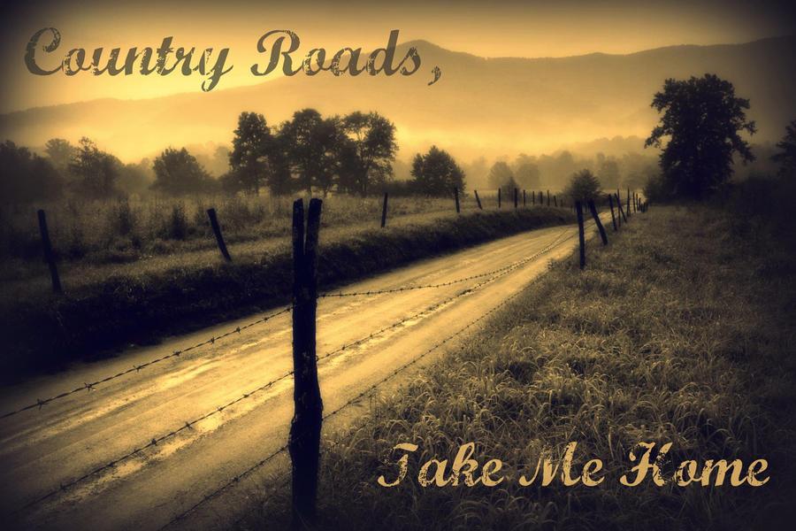 Country Roads Take Me Home by WakingTheFallen1209 on DeviantArt 2FG6KSL4