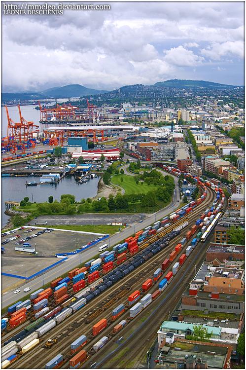 C h a r m . I l l u s i o n . G a l l e r y . Vancouver_city___train_by_mmeleo-d2yg8la