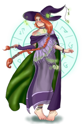 Comission - Irisa by Flame-Bloom