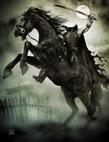 The Headless Horseman Rides Again by seanearley