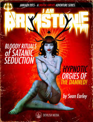 I Am Brimstone Pulp Cover by seanearley