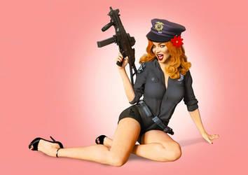 Five-O 2020 Police Pinup