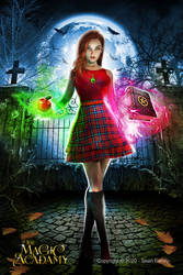 Teen Witch Premade Bookcover