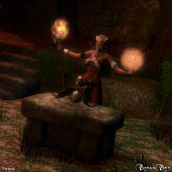 Sorceress by ArhainArt