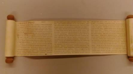 Scroll Cor'ke writing(leroca-project)
