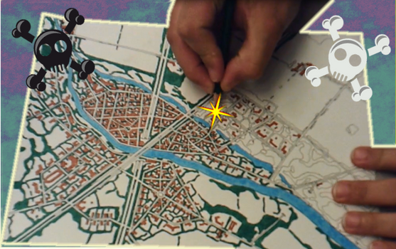 Map Drawing Timelapse