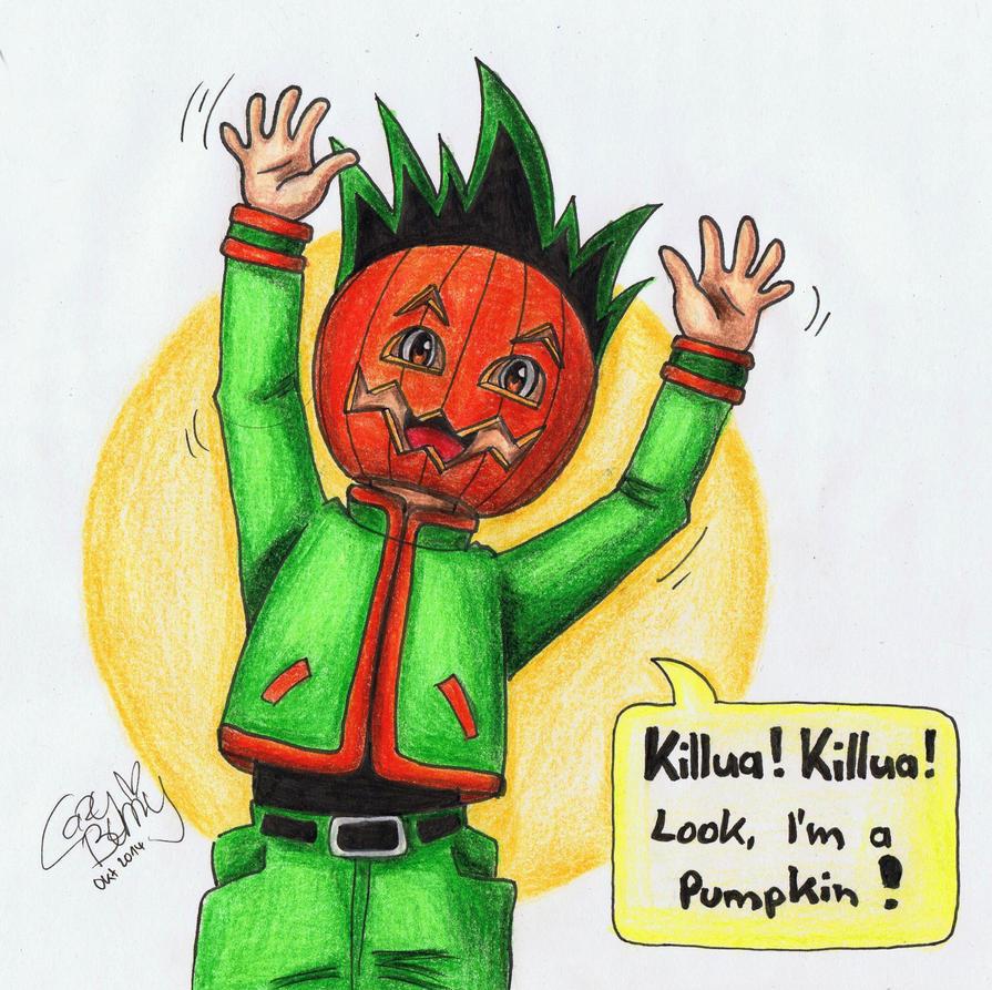 Pumpkin Dork Gon by CazyBunny