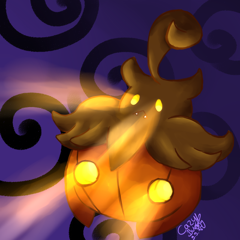Pumpkaboo by CazyBunny