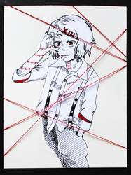 Juuzou red strings