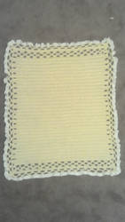 Yellow Baby Blanket by Andvili