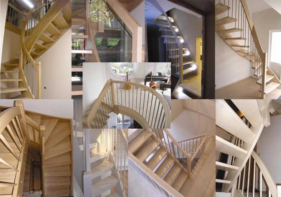 treppe podesttreppe ahorn massiv 1 2 gewendet aus deutschem meisterbetrieb ebay. Black Bedroom Furniture Sets. Home Design Ideas