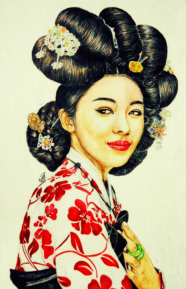 Hwang Jin Yi By Suryjmz On Deviantart