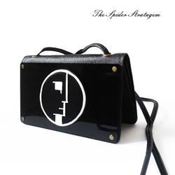 OOAK Gothic shoulder bag / handbag 'Bauhaus'