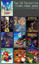 Top 10 Video Game Meme updated