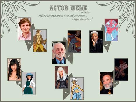 Actor Meme Sequel