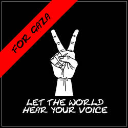 Your voice for Gaza by anitaru
