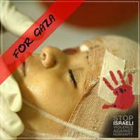 For the kids of Gaza II by anitaru