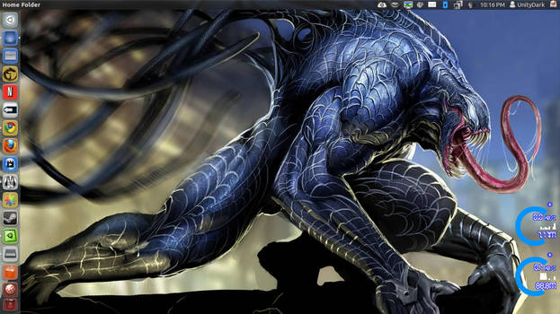 Blue Venom Spiderman by speedracker