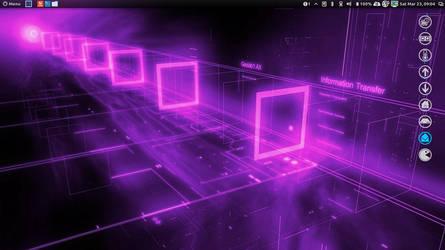 Purple Matrix by speedracker