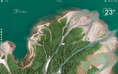 Google Earth and Antergos O.S by speedracker