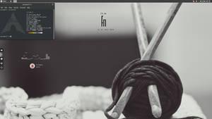 Arch Budgie Desktop by speedracker