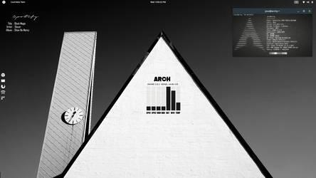 Mono Chrome Arch by speedracker