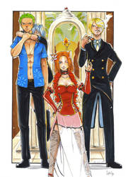 One Piece meets OC
