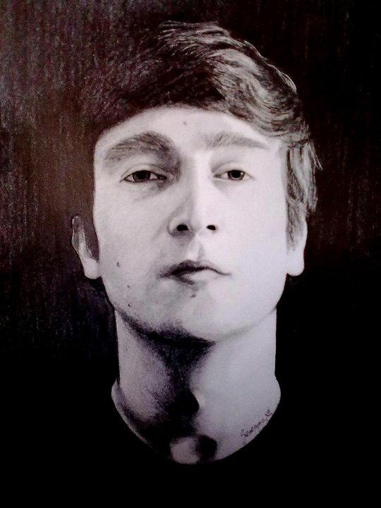John Winston Lennon by georginaflood