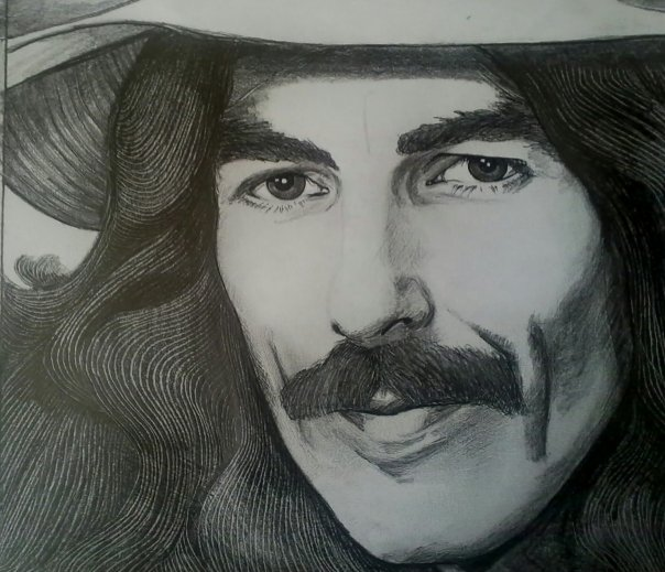 George Harrison by georginaflood
