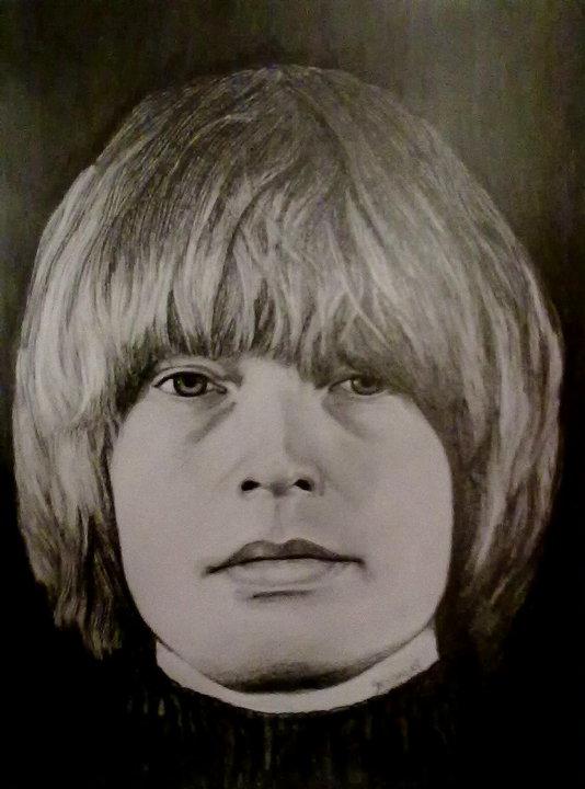 Brian Jones by georginaflood