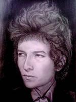 Bob Dylan by georginaflood