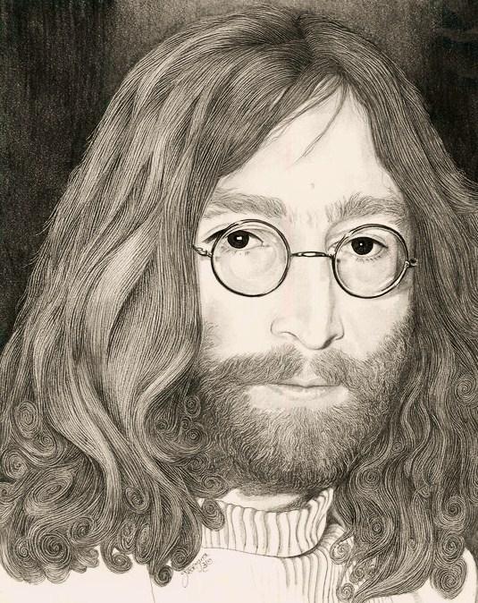 remembering John Lennon by georginaflood