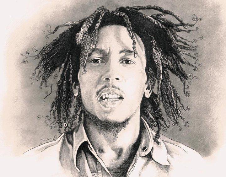 Bob Marley... One Love by georginaflood