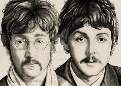 Lennon and McCartney 1967