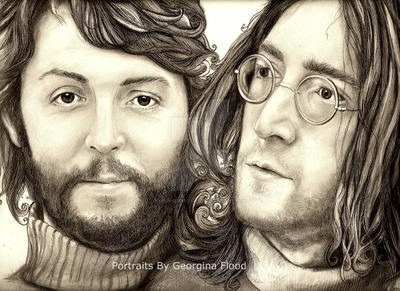 'Two Of Us' by georginaflood