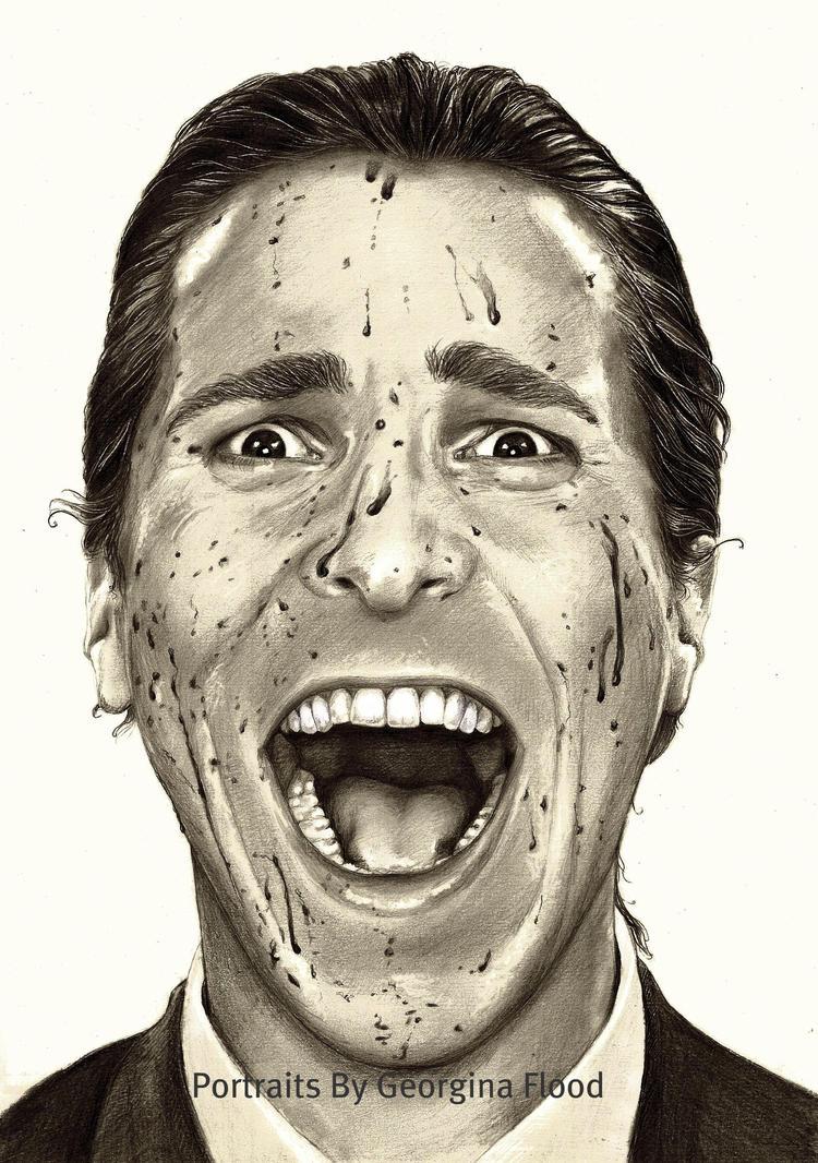 Patrick Bateman ....... Christian Bale by georginaflood