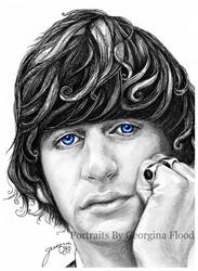 Ritchie blue eyes by georginaflood