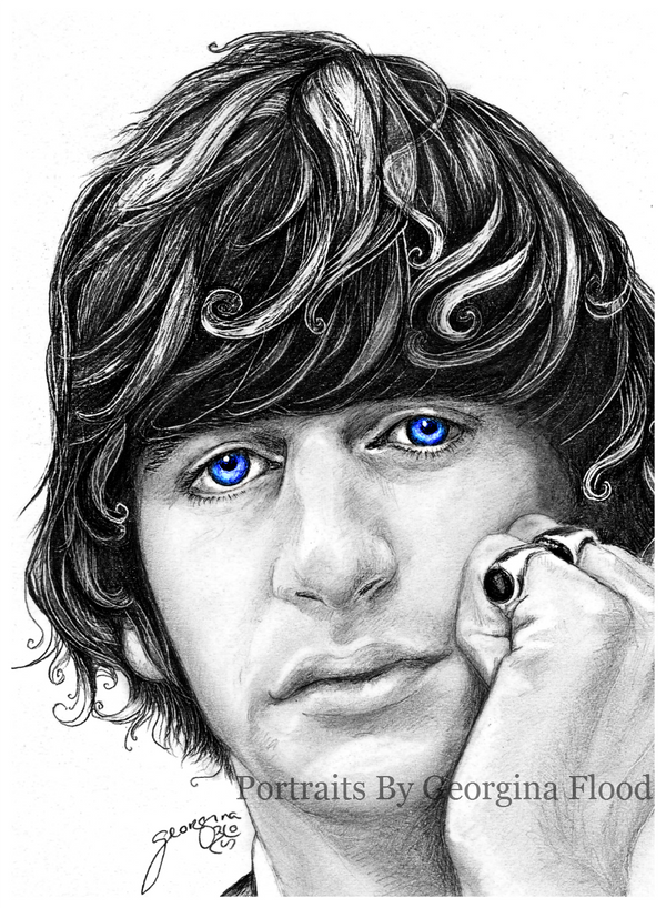 Ritchie blue eyes by georginaflood