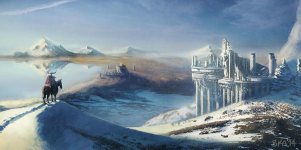 Snowy Landscape by bryansayshi