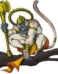 Hanuman by TigerMonkeyDesign