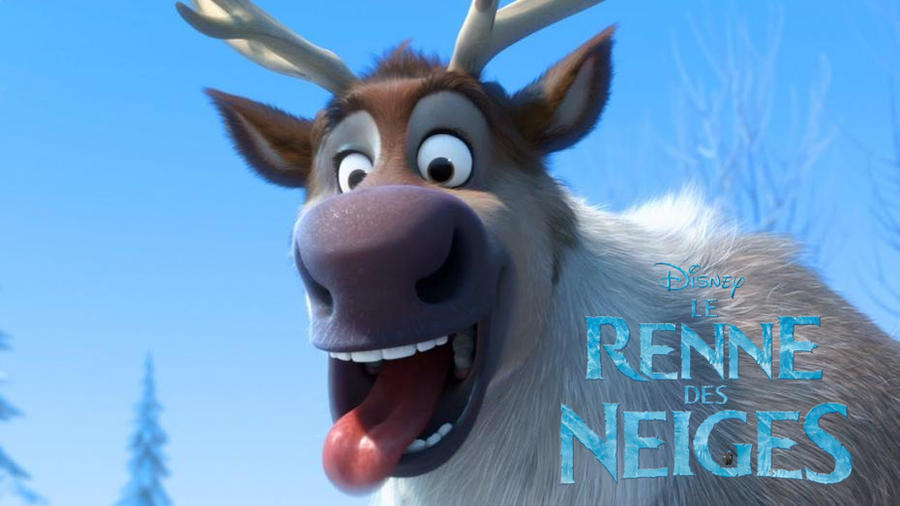 Frozen Reindeer Face Paint