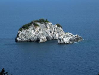 Rocky islet