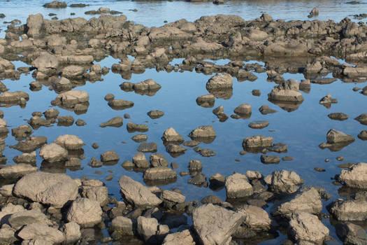 Rocky pond