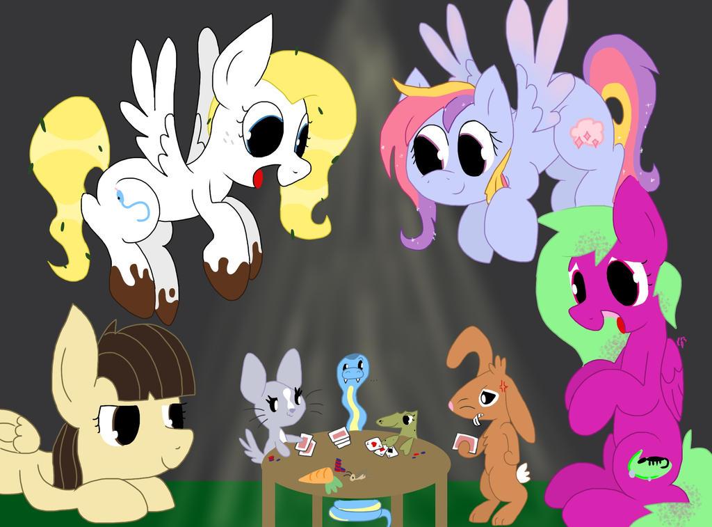 Pony Pet Poker Playdate by kalie0216