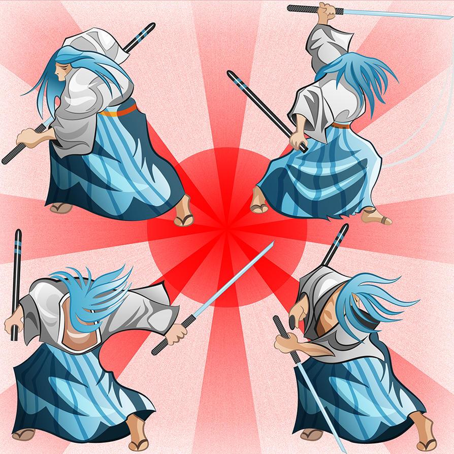 Ukyo from Samurai Shodown by Pepe09